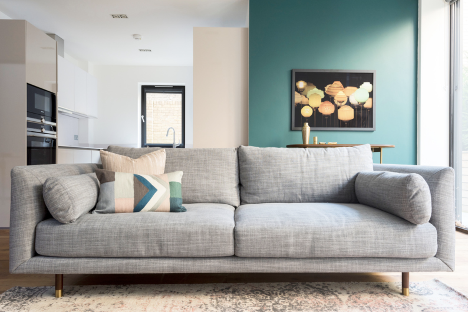 Couch at Drum Court Apartments, Barnsbury, London - Citybase Apartments