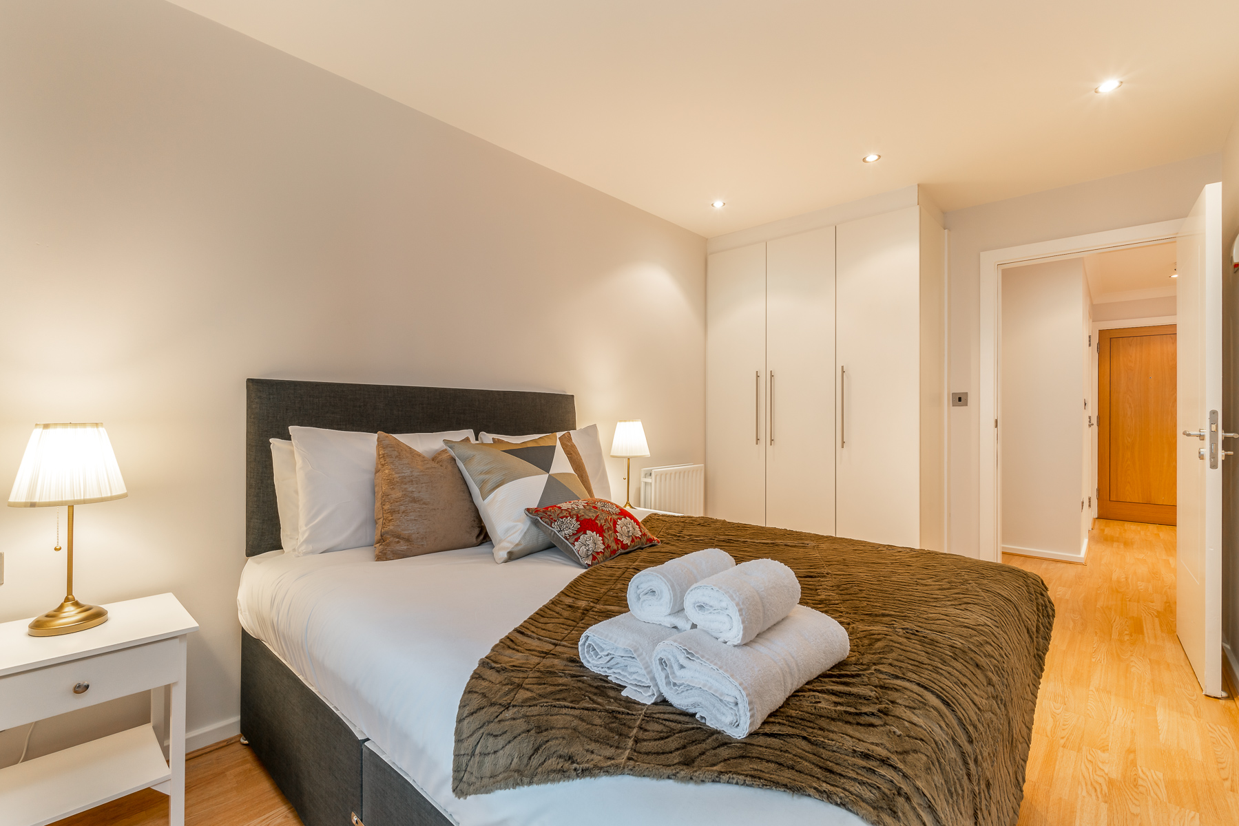 Bedroom at Lazer Lane Apartment, Centre, Dublin - Citybase Apartments