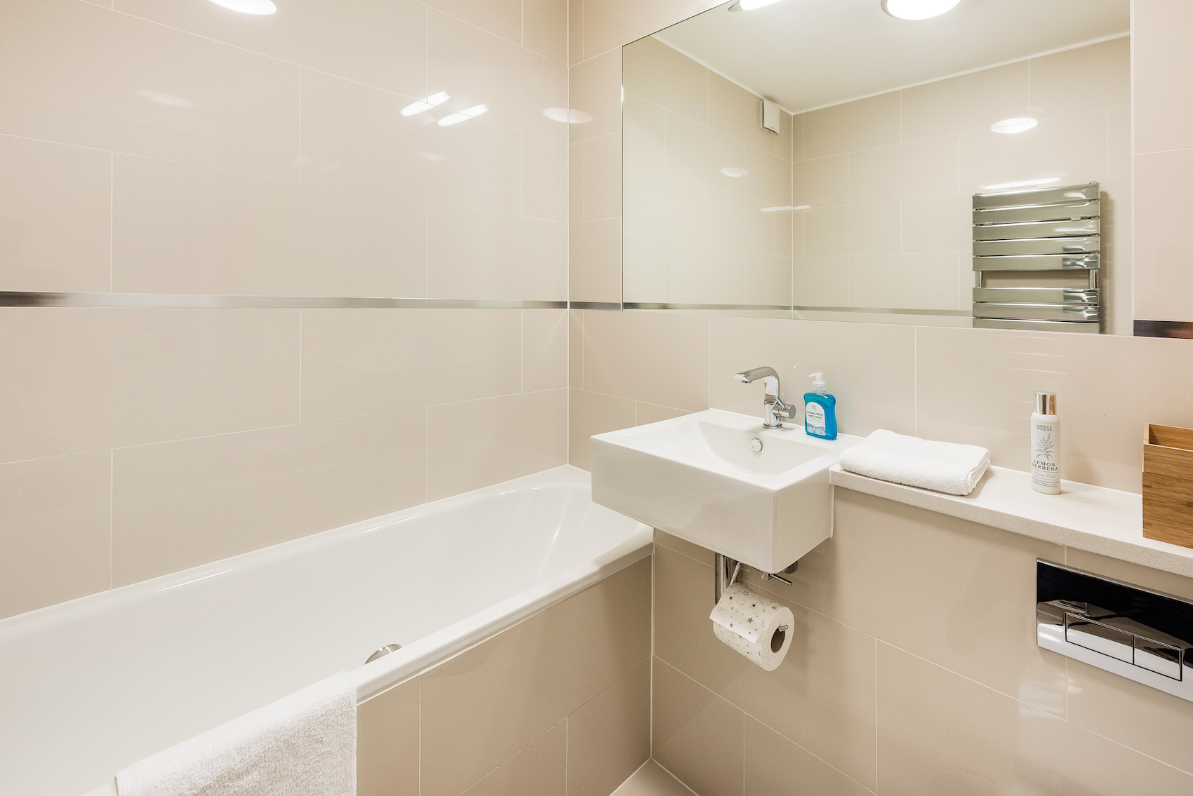 Bath at Short Gardens Apartment, Covent Garden, London - Citybase Apartments