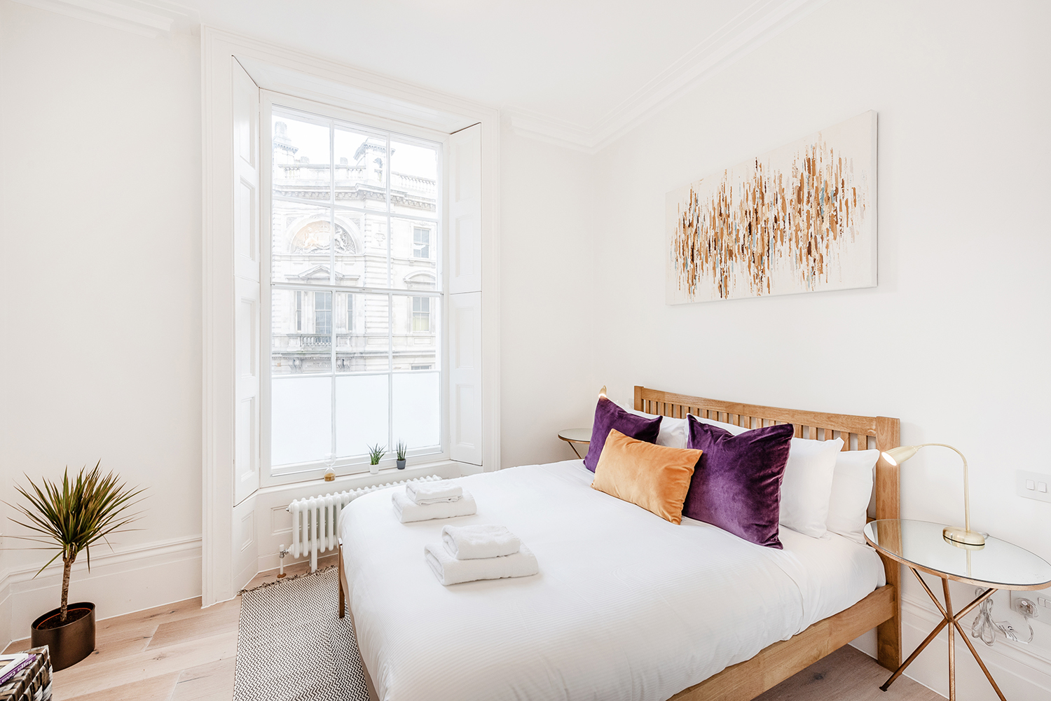 Bedroom at Short Gardens Apartment, Covent Garden, London - Citybase Apartments