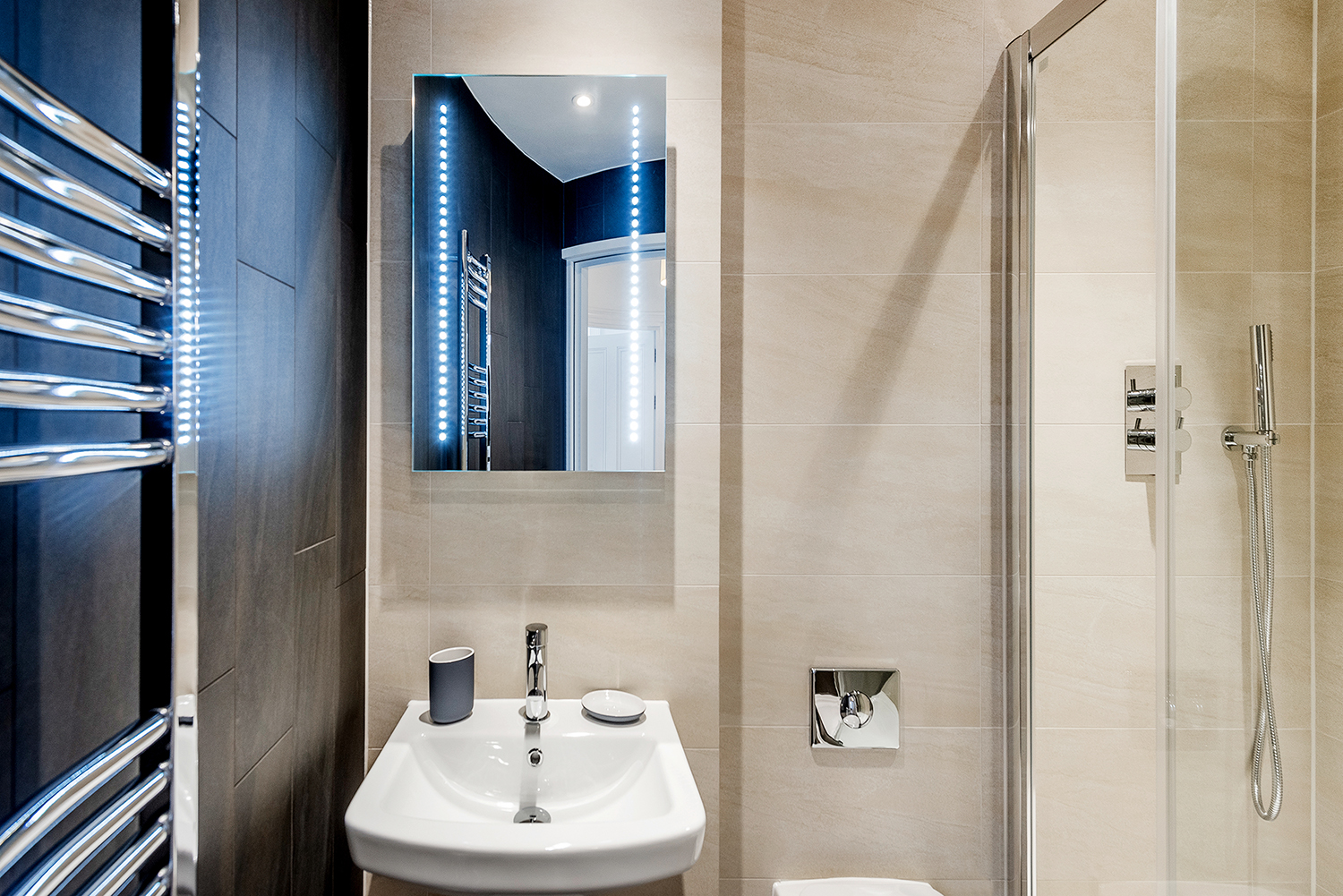 Sink at Short Gardens Apartment, Covent Garden, London - Citybase Apartments
