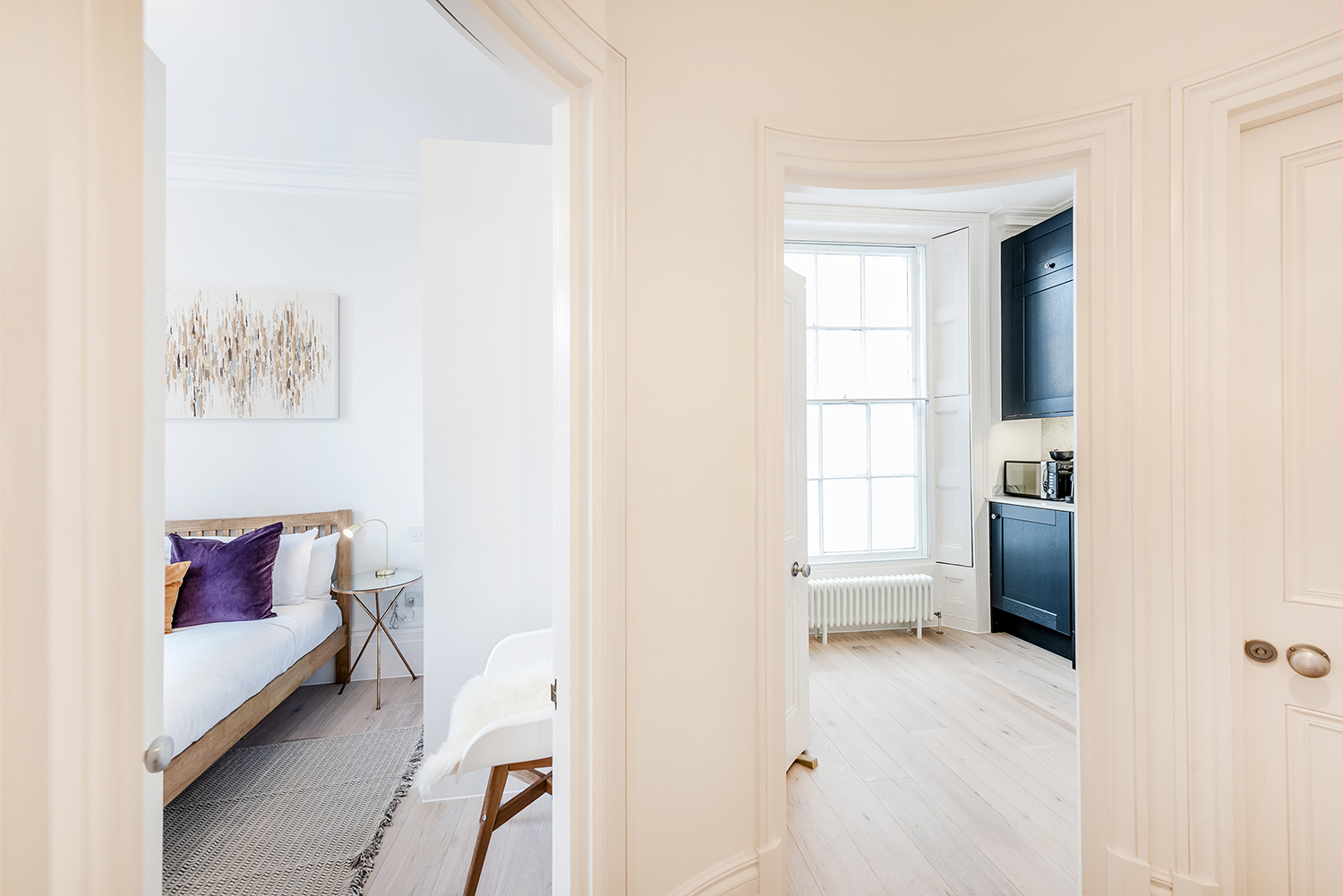 Hallway at Short Gardens Apartment, Covent Garden, London - Citybase Apartments
