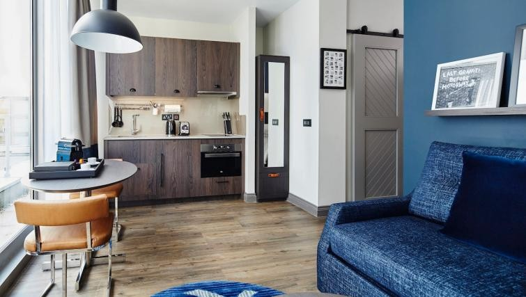 Wooden flooring at Residence Inn London Bridge - Citybase Apartments