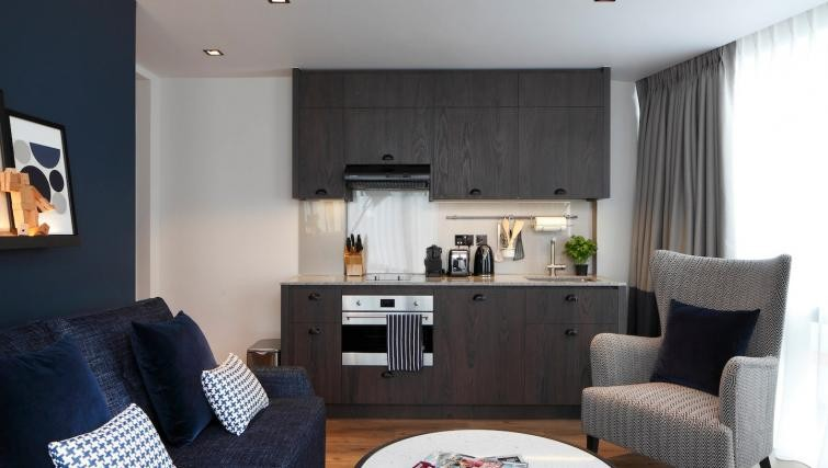 Kitchen at Residence Inn London Bridge - Citybase Apartments