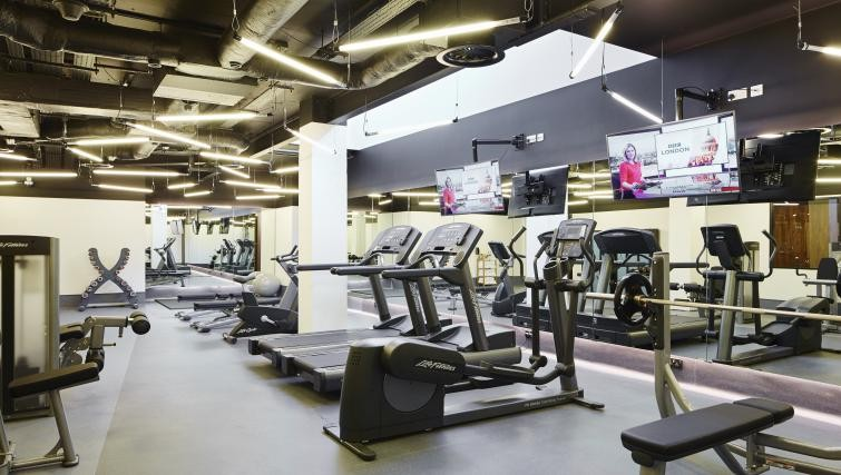 Gym at Residence Inn London Bridge - Citybase Apartments