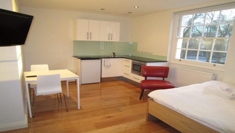 Double studio at Paddington Green Apartments - Citybase Apartments