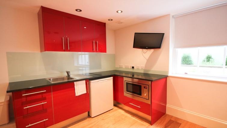 Kitchen at Paddington Green Apartments - Citybase Apartments
