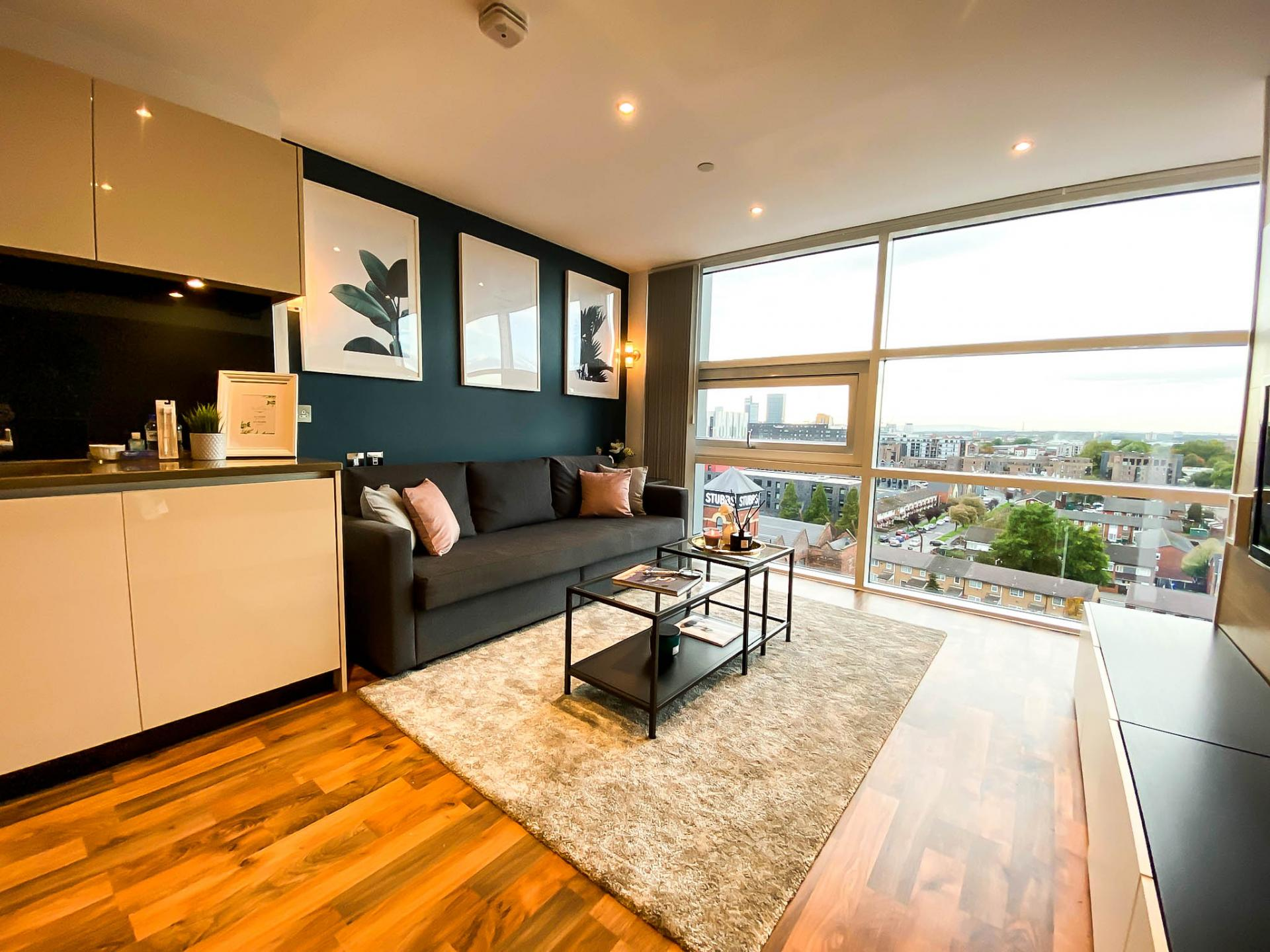 Open room at Milliners Wharf Apartment, New Islington, Manchester - Citybase Apartments