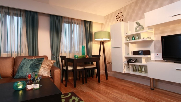 Comfortable living area in Best Western Maitrise Suites Hotel - Citybase Apartments