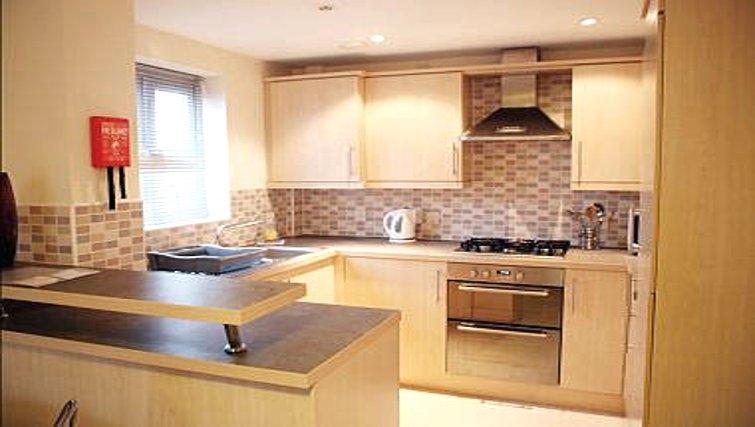 Excellent kitchen in Brunel Crescent Apartments - Citybase Apartments