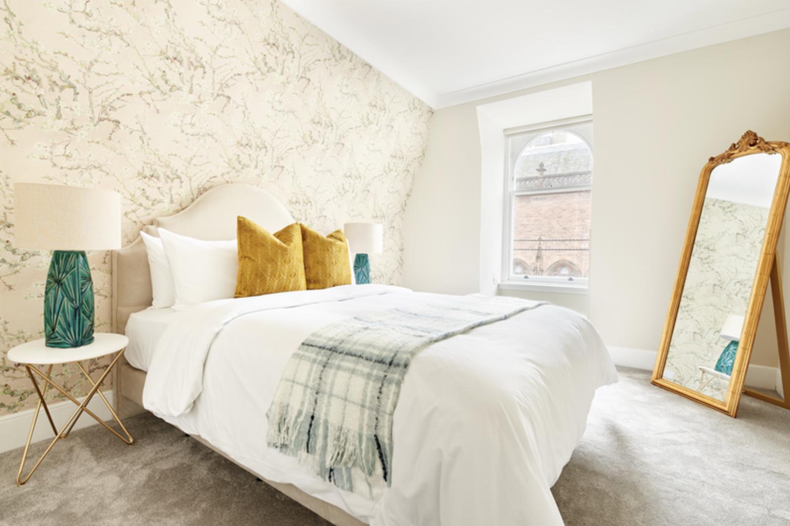 Bedroom at Royal Garden Serviced Apartments, Centre, Edinburgh - Citybase Apartments