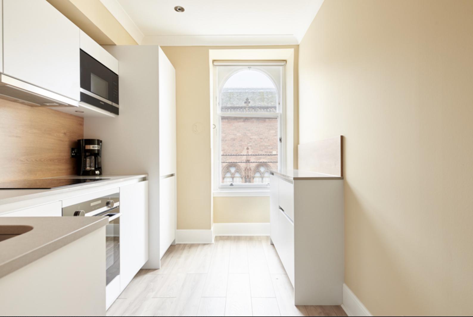 Kitchen at Royal Garden Serviced Apartments, Centre, Edinburgh - Citybase Apartments