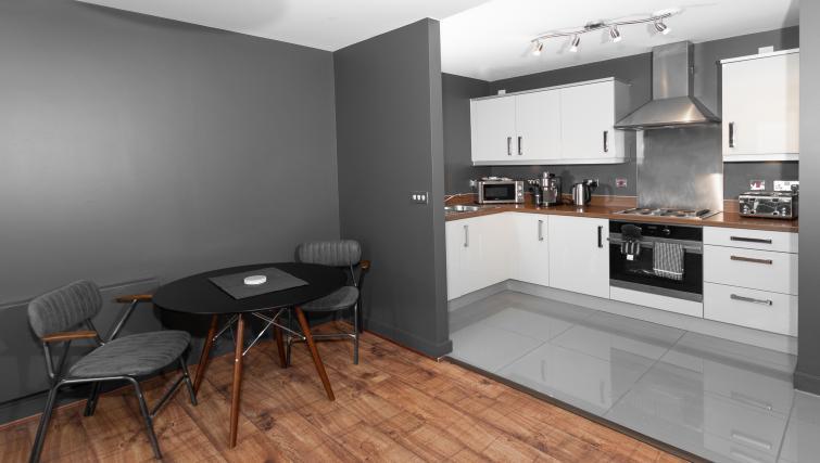 Kitchen facilities at City Stay Apartments Hub - Citybase Apartments
