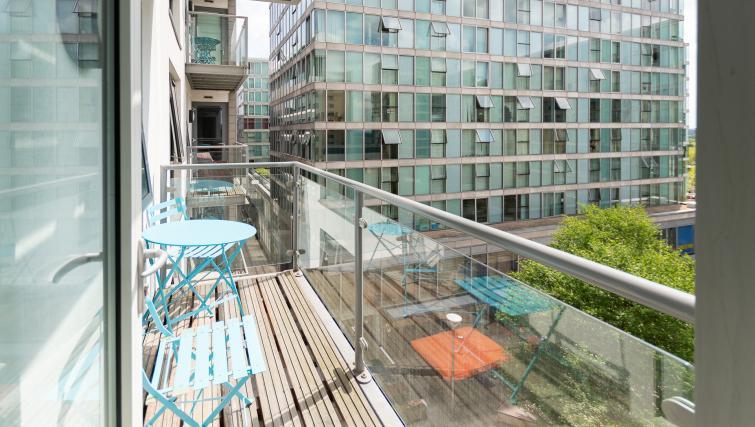 Balcony area at City Stay Apartments Hub - Citybase Apartments