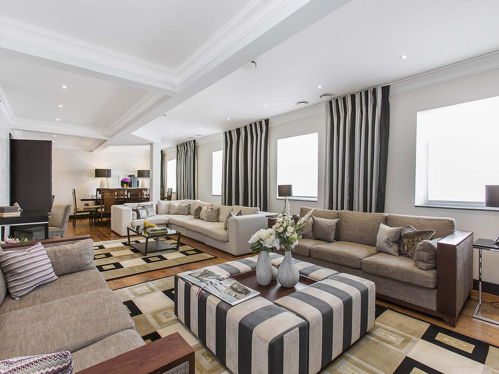 Luxurious furnishings at 130 Queens Gate Apartments, South Kensington, London - Citybase Apartments
