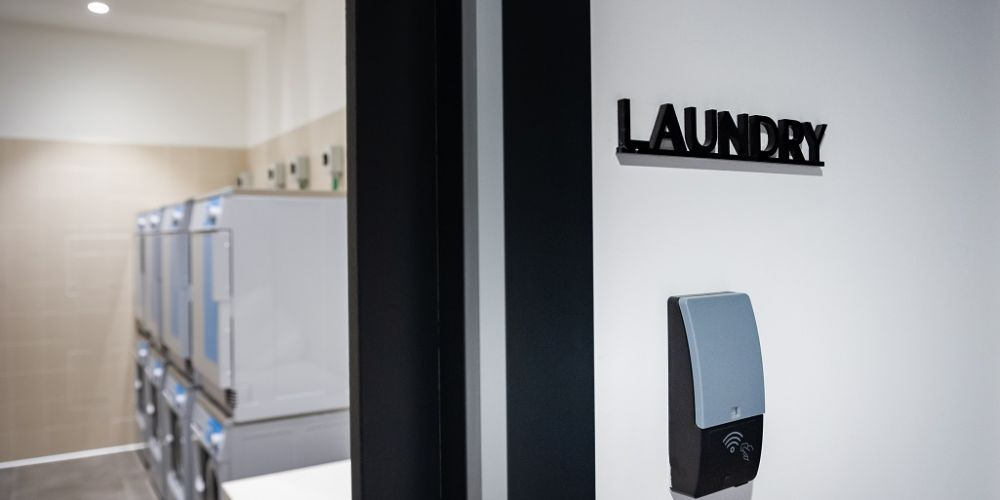 Laundry at Staycity Manchester Northern Quarter, Ancoats, Manchester - Citybase Apartments