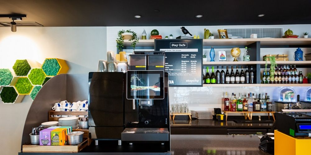 Cafe at Staycity Manchester Northern Quarter, Ancoats, Manchester - Citybase Apartments