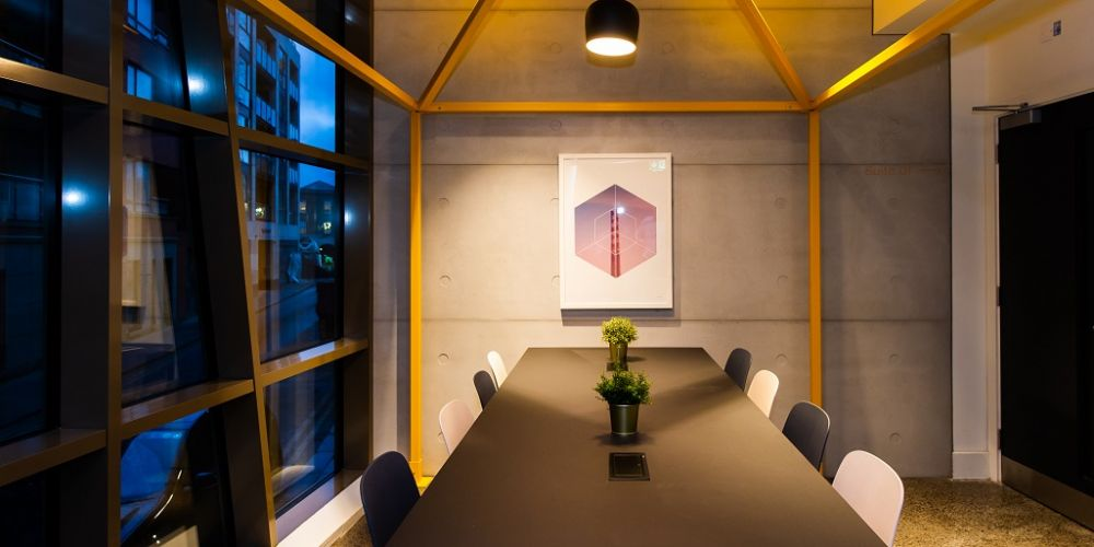Communal dining at Staycity Manchester Northern Quarter, Ancoats, Manchester - Citybase Apartments