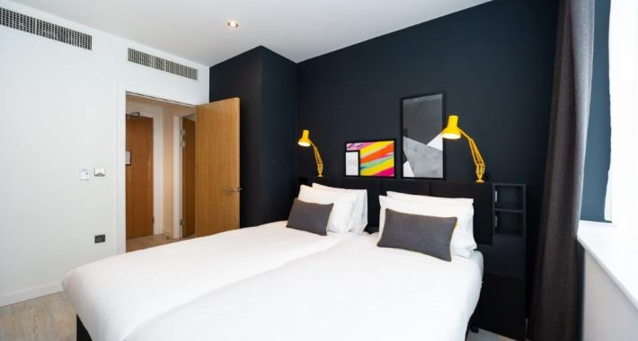 Zip and link beds at Staycity Manchester Northern Quarter, Ancoats, Manchester - Citybase Apartments