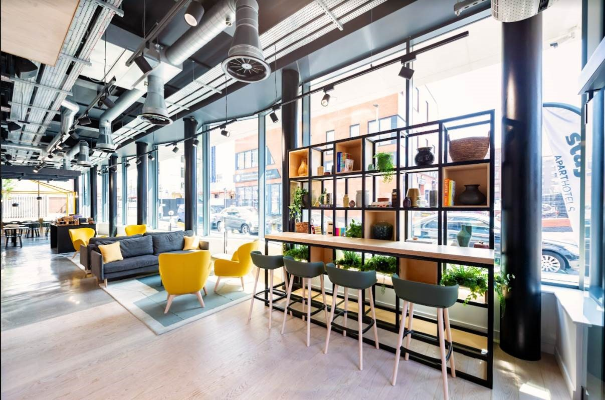 Staycafe at Staycity Manchester Northern Quarter, Ancoats, Manchester - Citybase Apartments