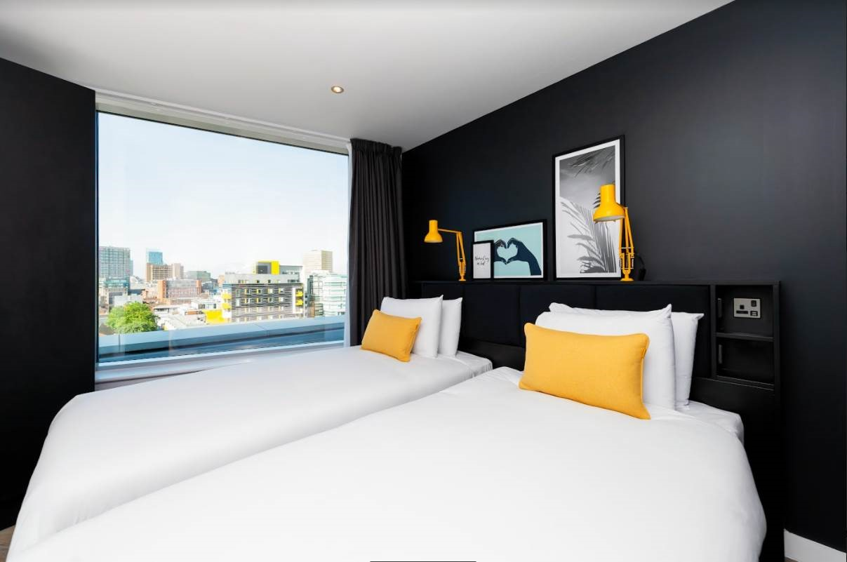 Bedroom at Staycity Manchester Northern Quarter, Ancoats, Manchester - Citybase Apartments