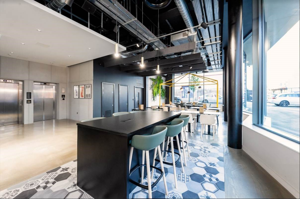Lobby at Staycity Manchester Northern Quarter, Ancoats, Manchester - Citybase Apartments