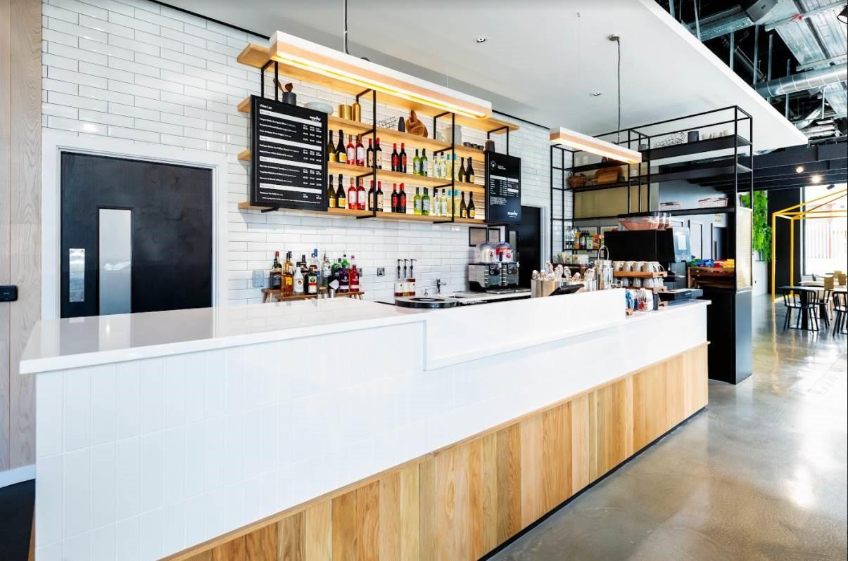 Bar at Staycity Manchester Northern Quarter, Ancoats, Manchester - Citybase Apartments