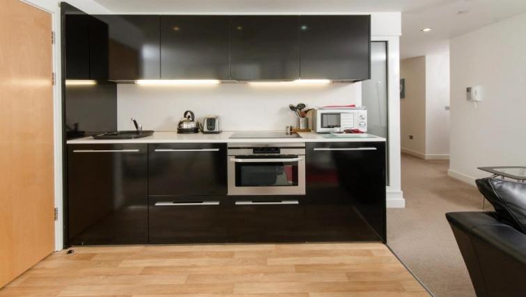 Stunning kitchen in Marsh House Apartments - Citybase Apartments