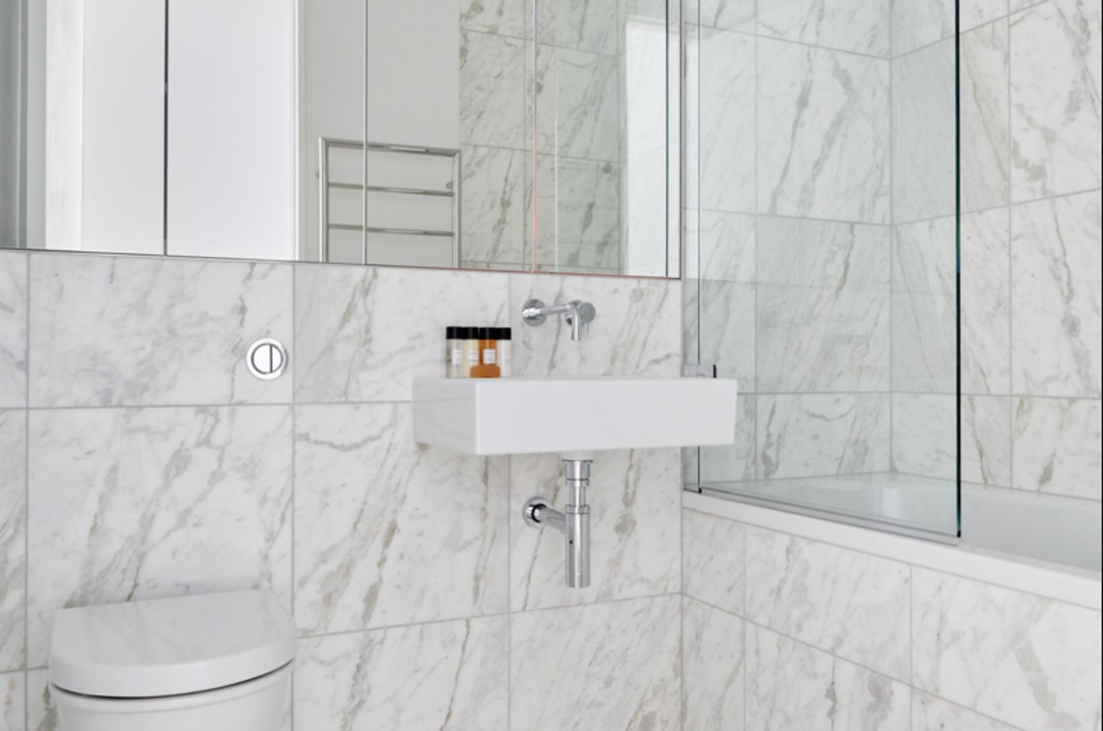 Bathroom at Bell Yard Apartments, City, London - Citybase Apartments