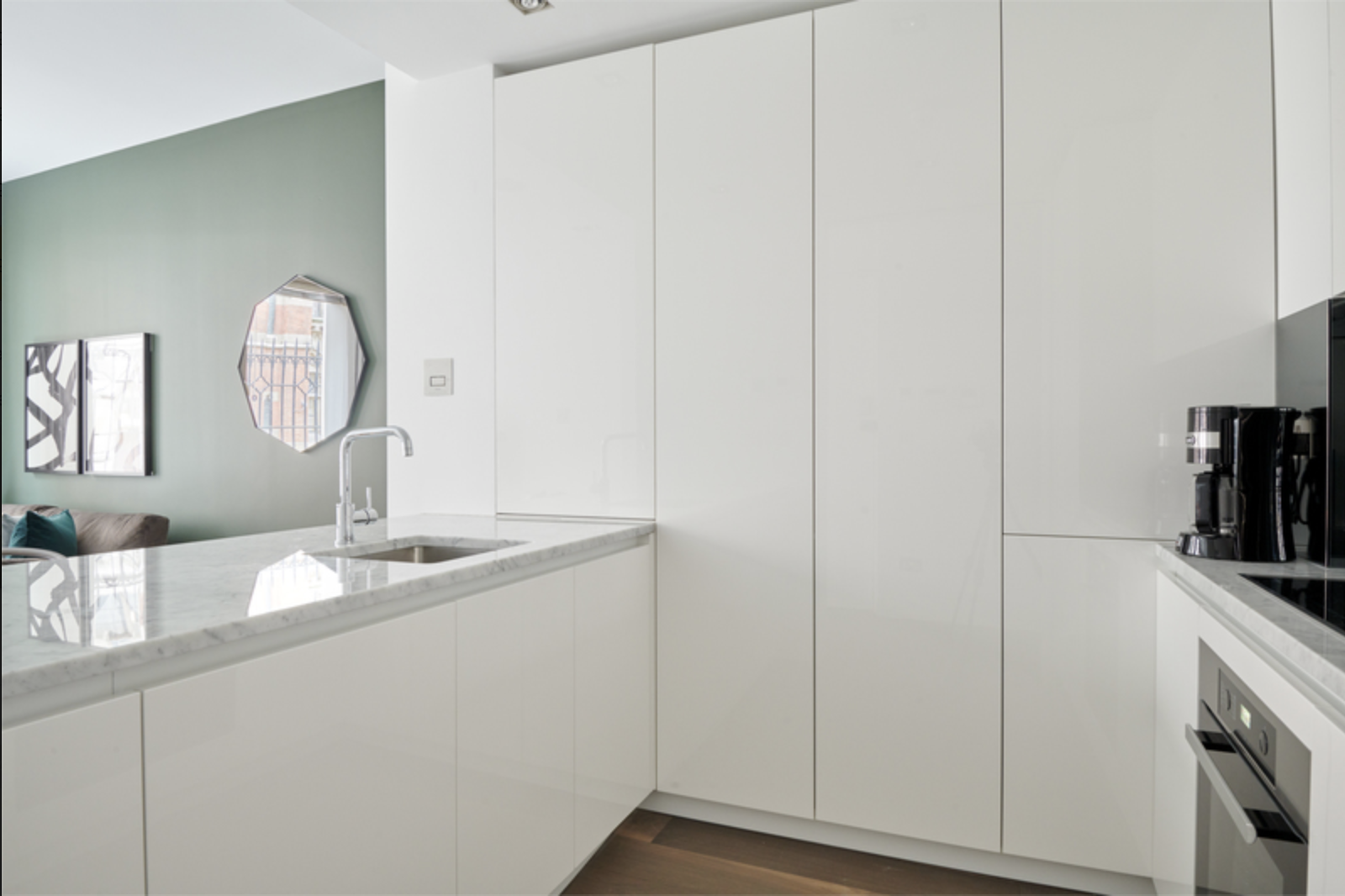 Kitchen at Maughan Library Apartments, City, London - Citybase Apartments