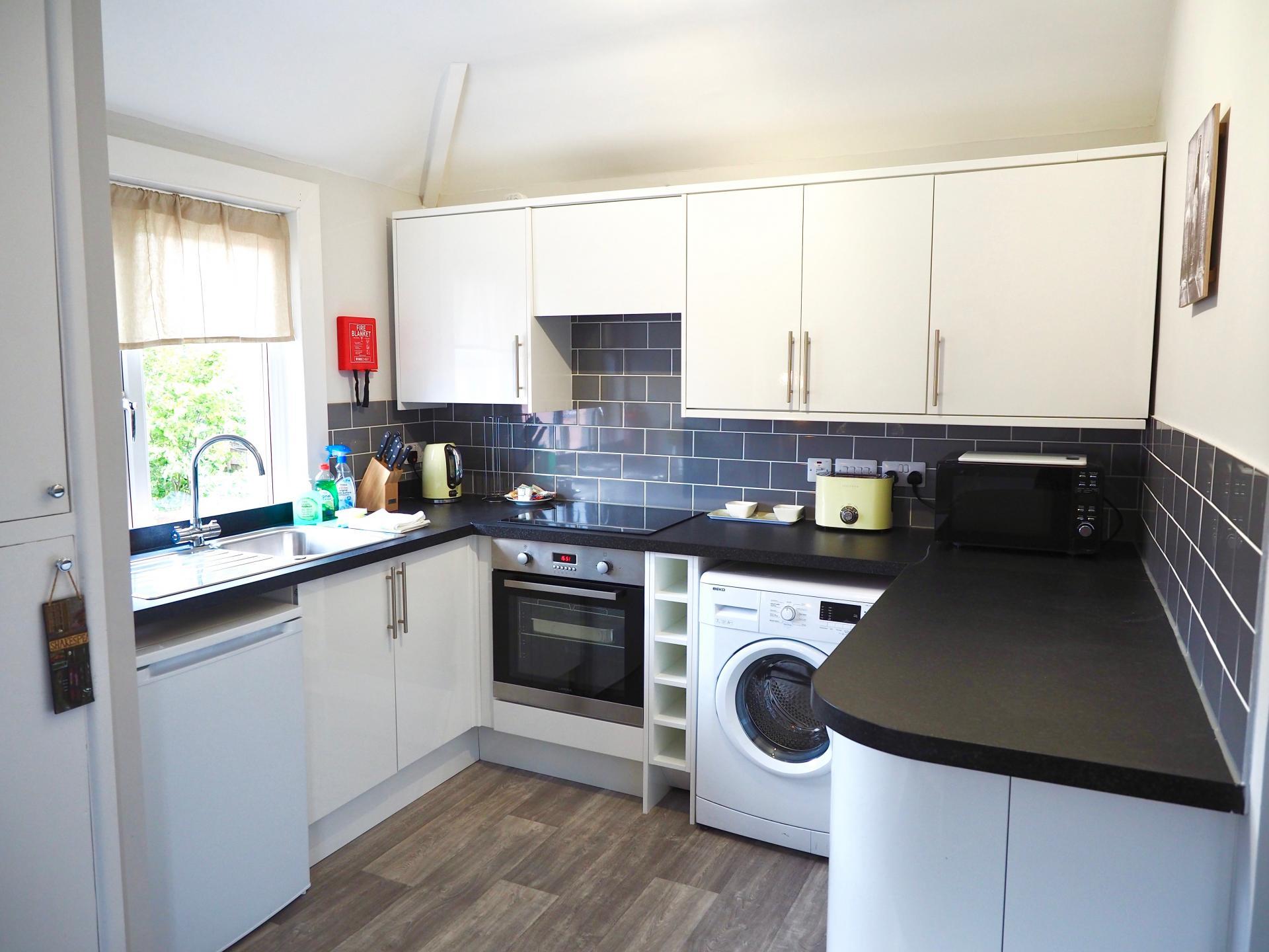 Kitchen at Exeter Suite Apartments, Headington, Oxford - Citybase Apartments