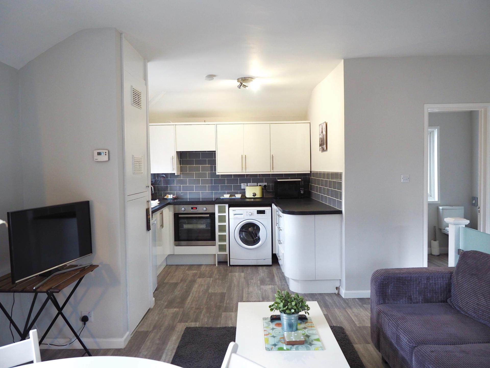 TV at Exeter Suite Apartments, Headington, Oxford - Citybase Apartments