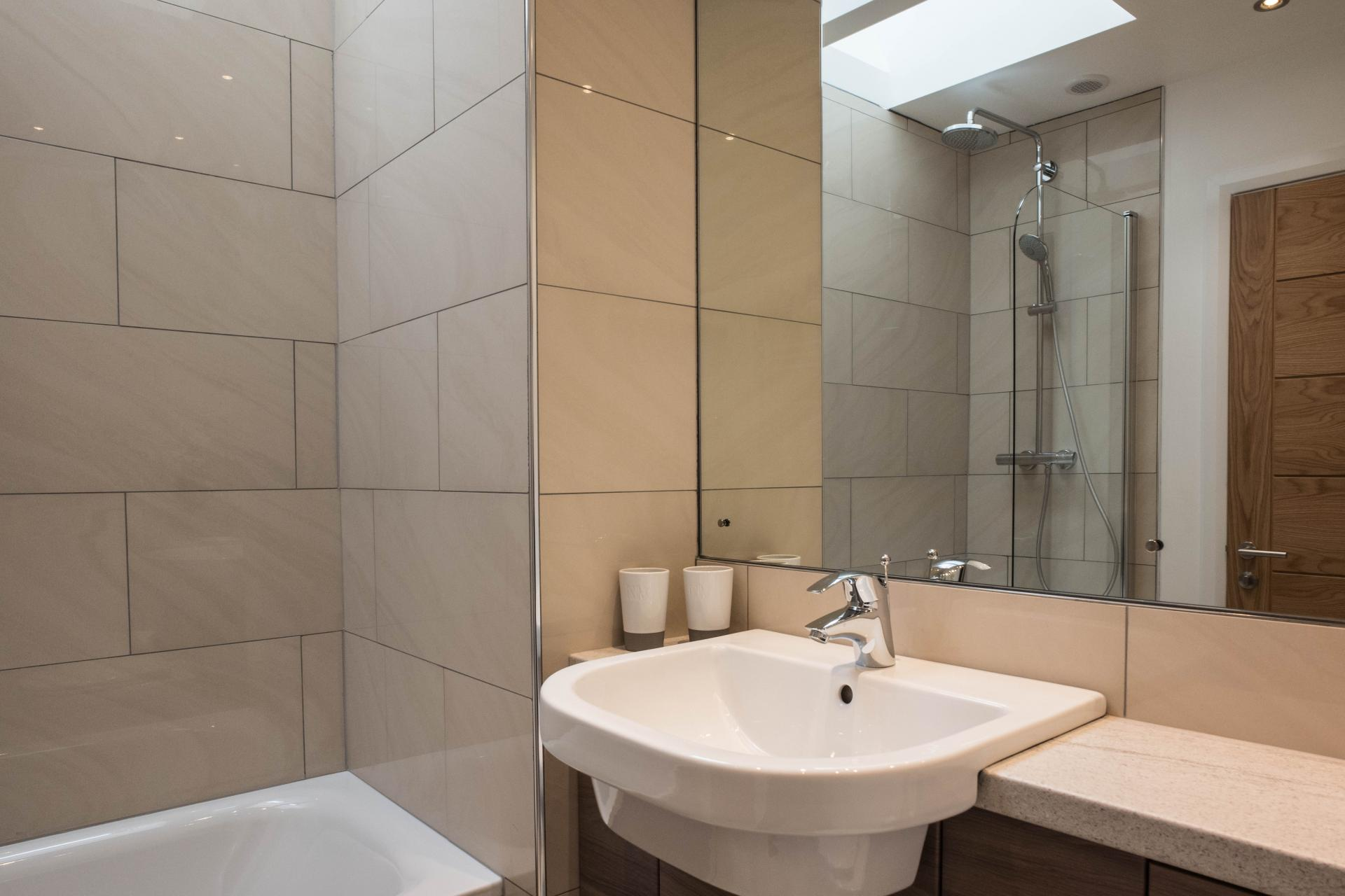 Bath at Oakfield Court Apartment Hotel, Sale, Manchester - Citybase Apartments