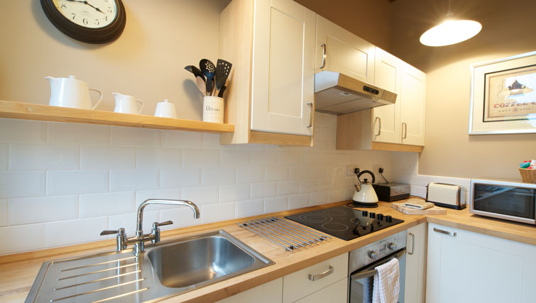 Hob at Oakfield Court Apartment Hotel, Sale, Manchester - Citybase Apartments