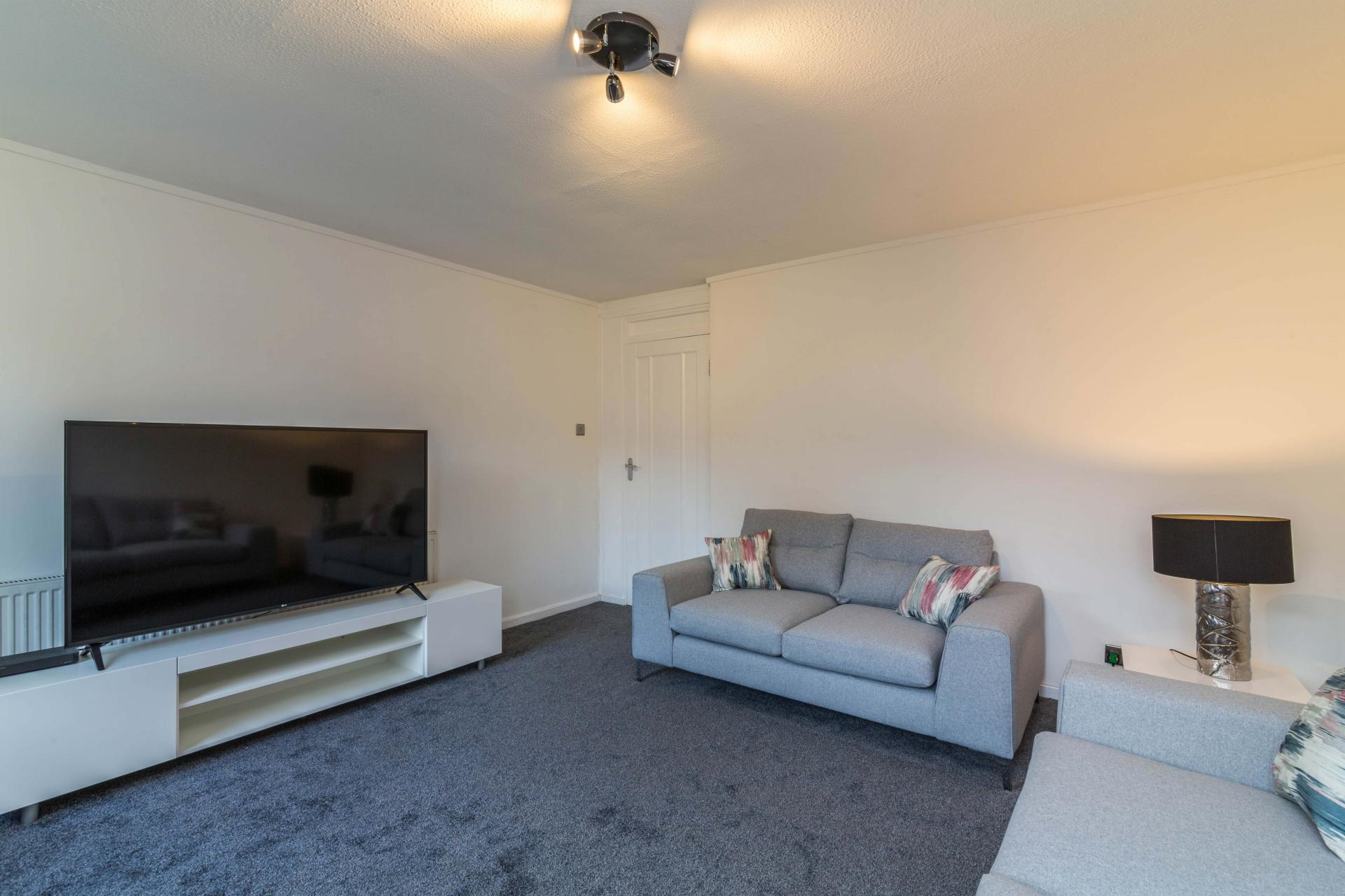 Living room at Redcliffe Apartment, Mapperley Park, Nottingham - Citybase Apartments
