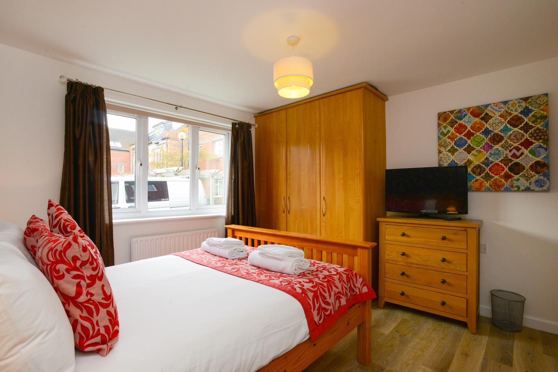 Bedroom at Edward's Court Apartment, West Bridgford, Nottingham - Citybase Apartments