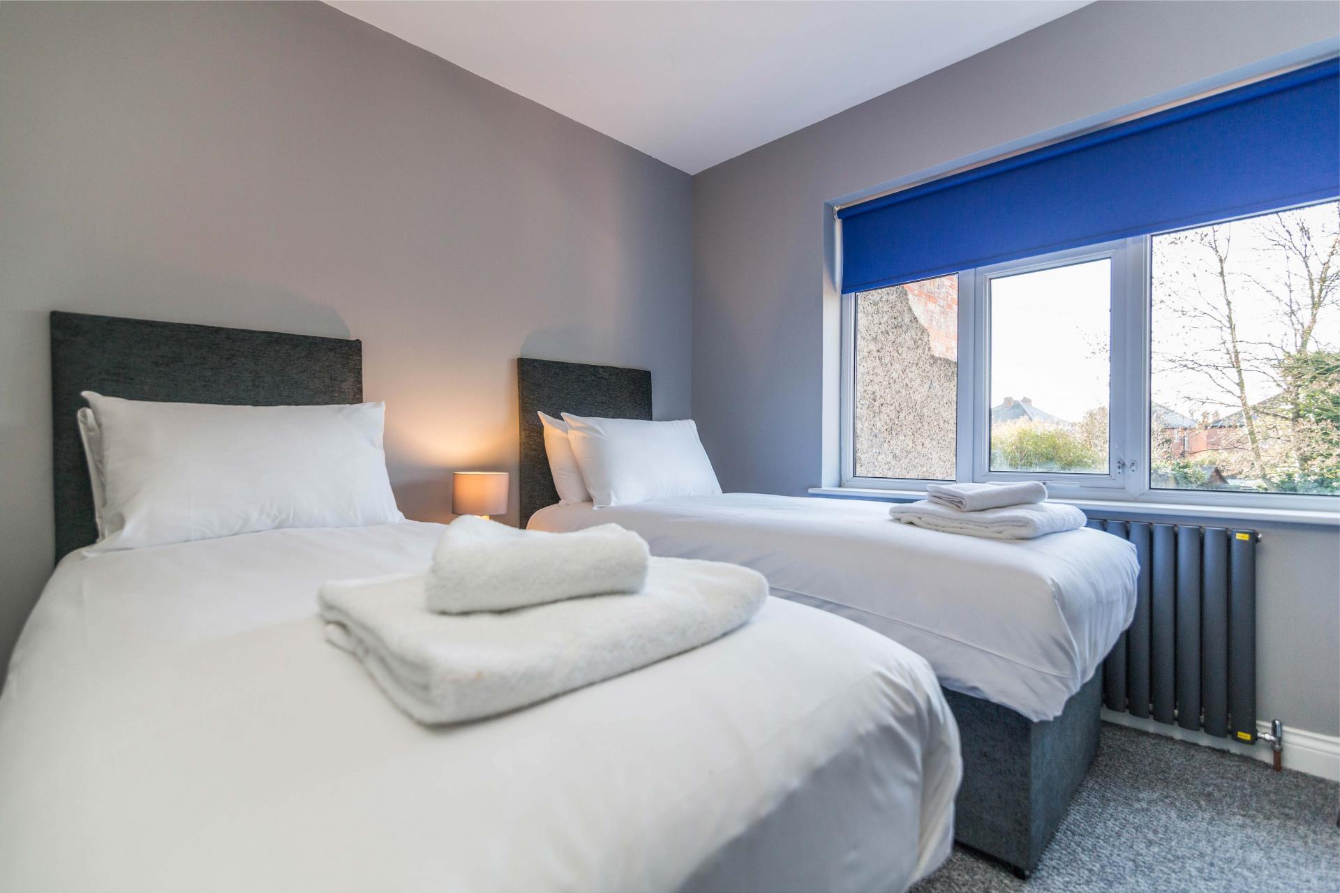 Bedroom at Charnwood House, Sawley, Nottingham - Citybase Apartments