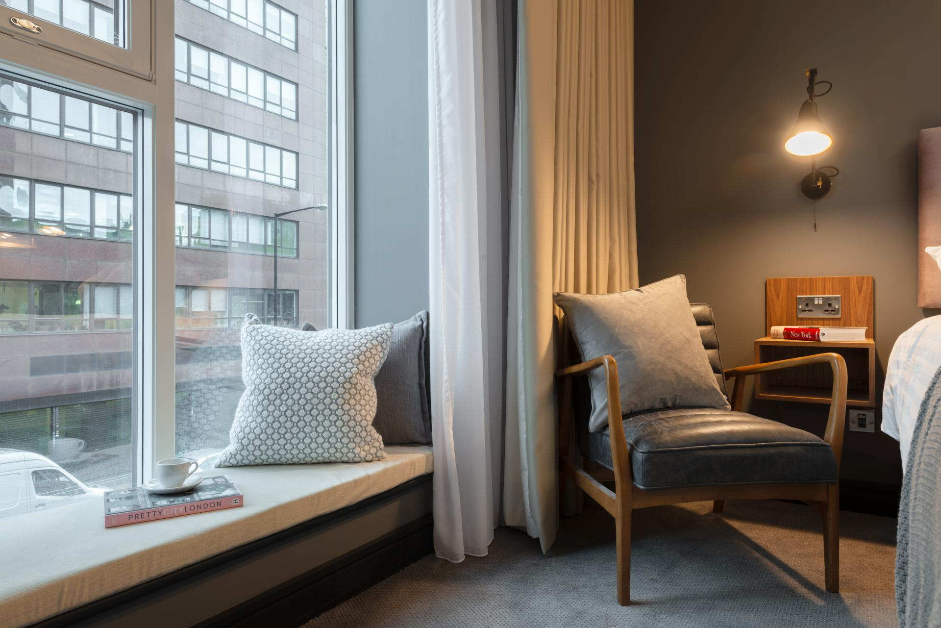 Window seat at The Gate Apartments, Whitechapel, London - Citybase Apartments