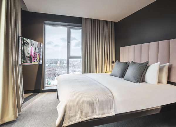 Bedroom at The Gate Apartments, Whitechapel, London - Citybase Apartments