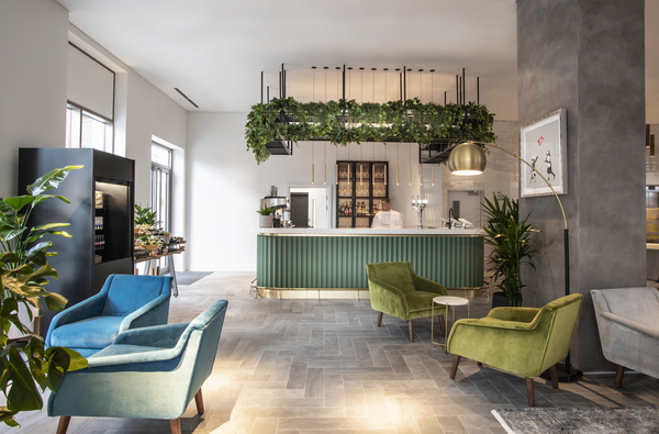 Reception at The Gate Apartments, Whitechapel, London - Citybase Apartments