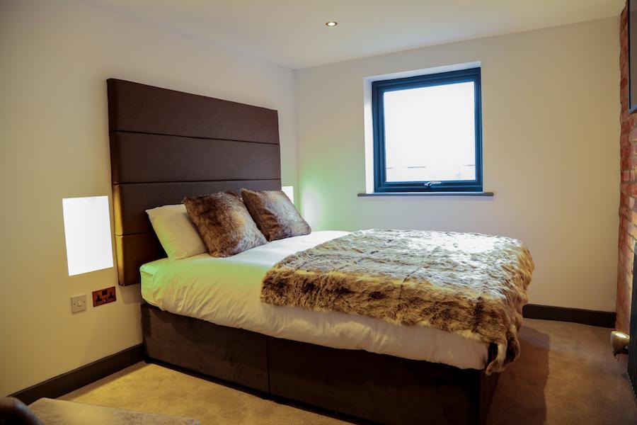 Bed at No. 10 Theatre Street, Centre, Preston - Citybase Apartments