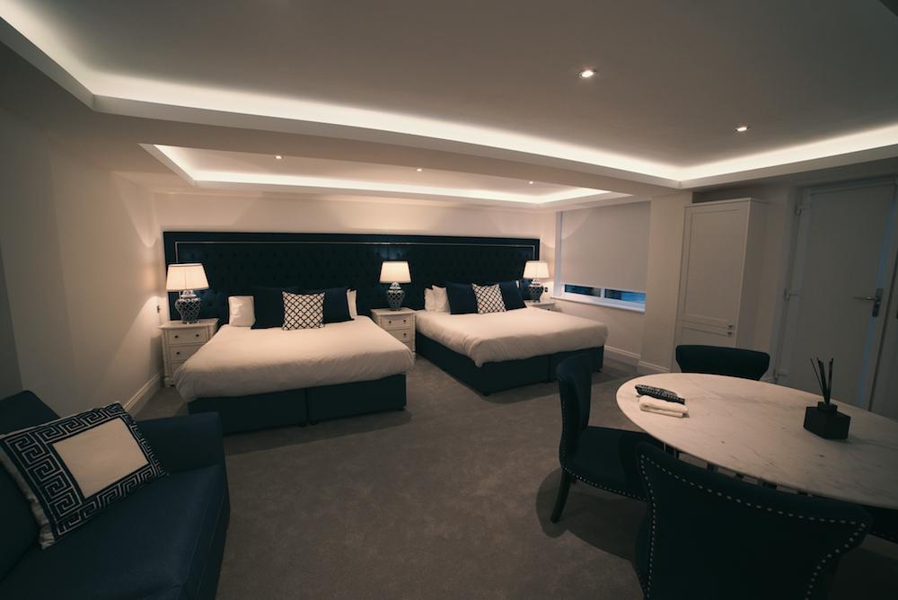 Super king size beds at No. 10 Theatre Street, Centre, Preston - Citybase Apartments