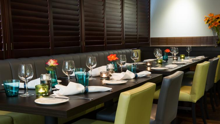 Fine dining at Dolphin House - Citybase Apartments