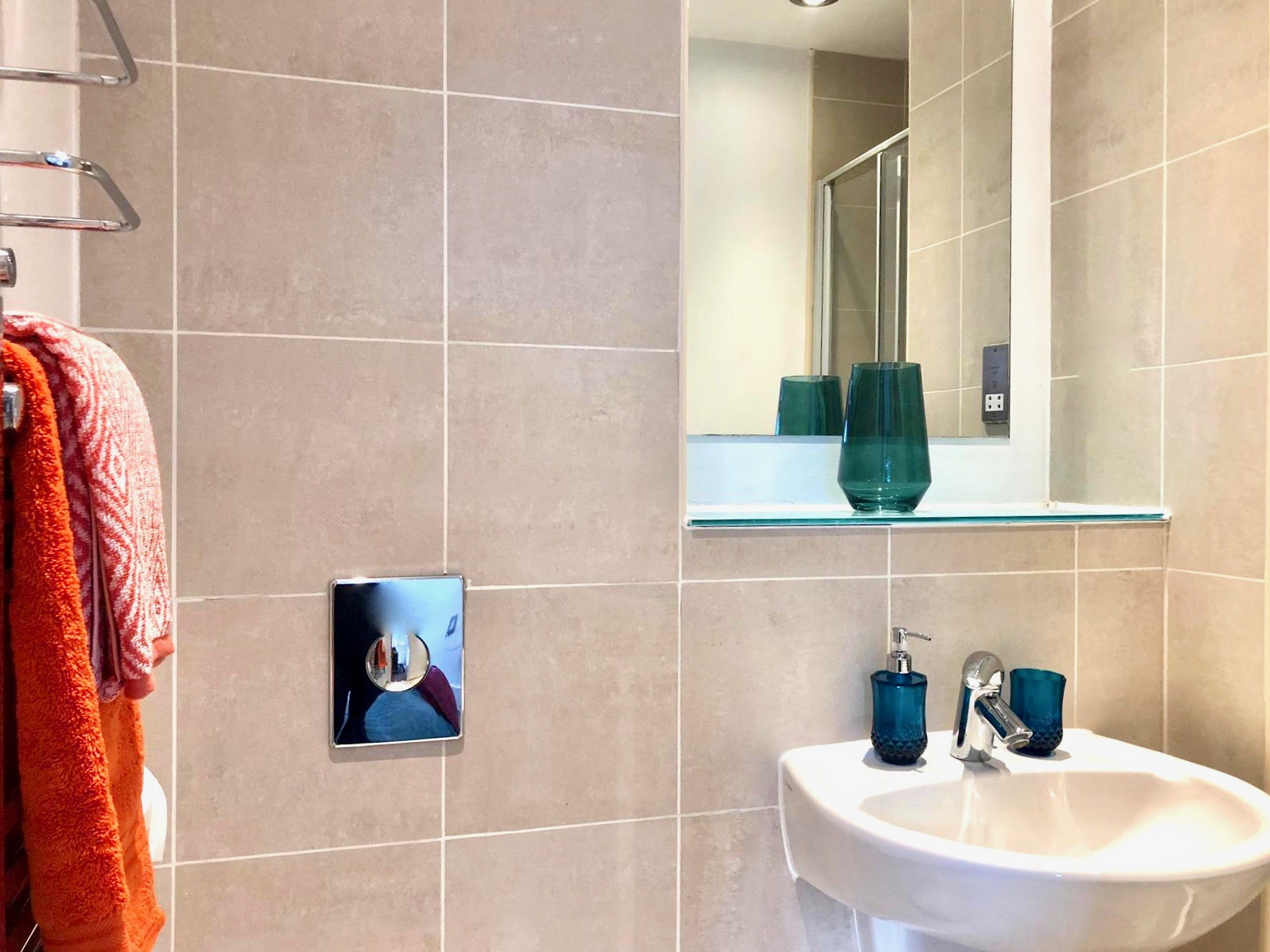 Sink at West One Apartment, Centre, Sheffield - Citybase Apartments