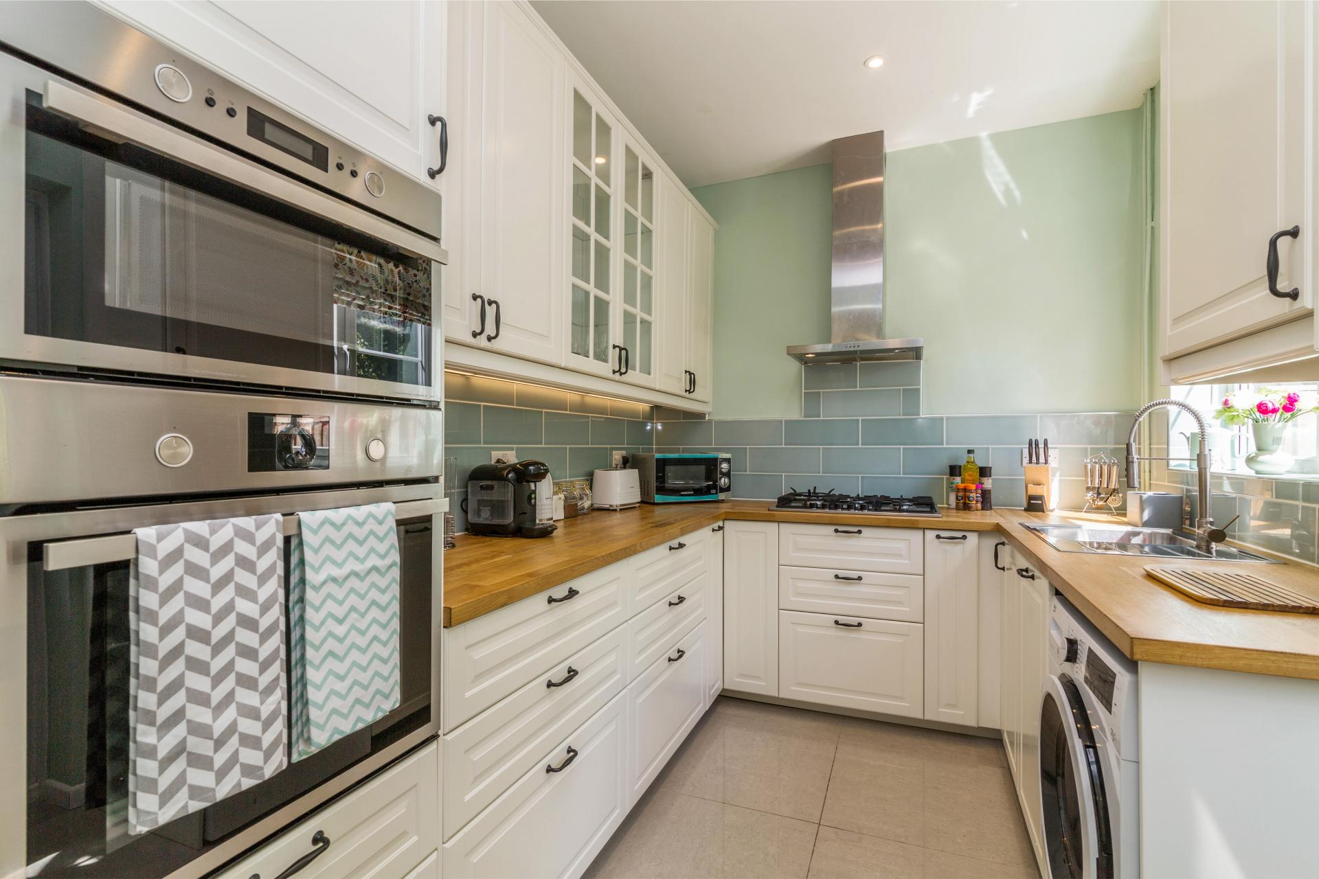 Kitchen at Mapperley House, Mapperley Park, Nottingham - Citybase Apartments