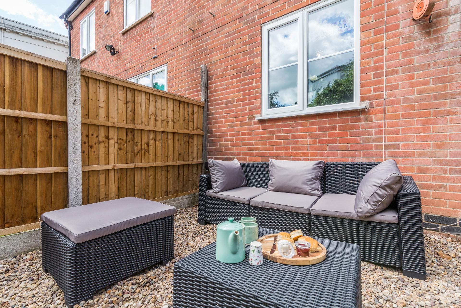Garden at Mapperley House, Mapperley Park, Nottingham - Citybase Apartments