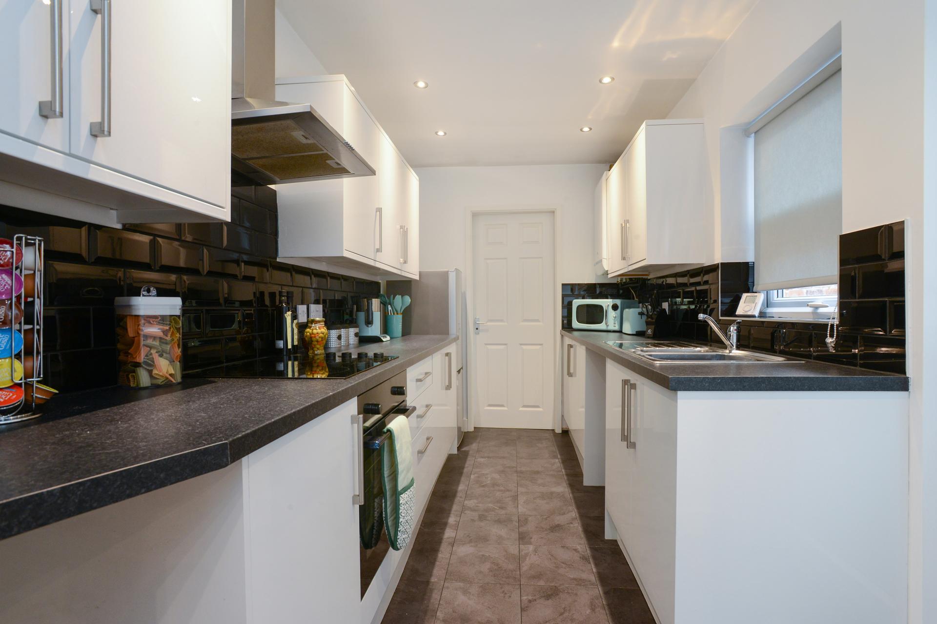 Kitchen at Beeston House, Beeston, Nottingham - Citybase Apartments