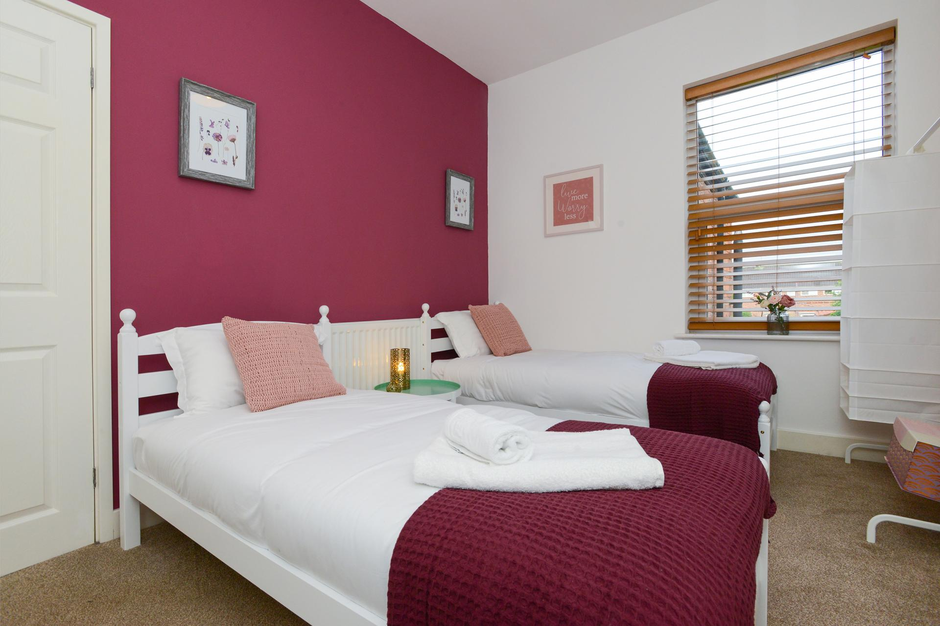 Bedroom at Beeston House, Beeston, Nottingham - Citybase Apartments