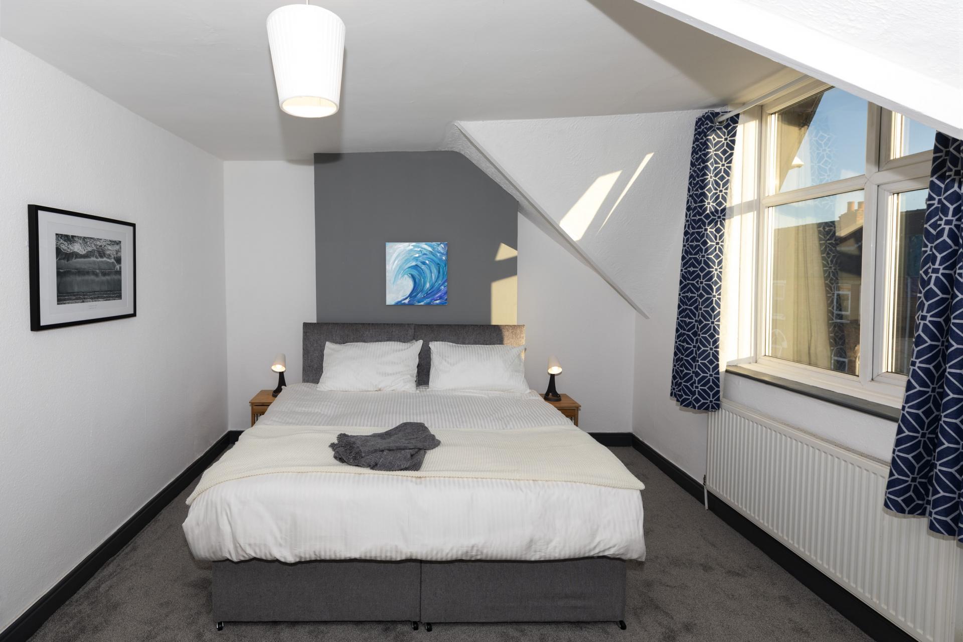 Bed at Nottingham Arthouse, Sneinton, Nottingham - Citybase Apartments
