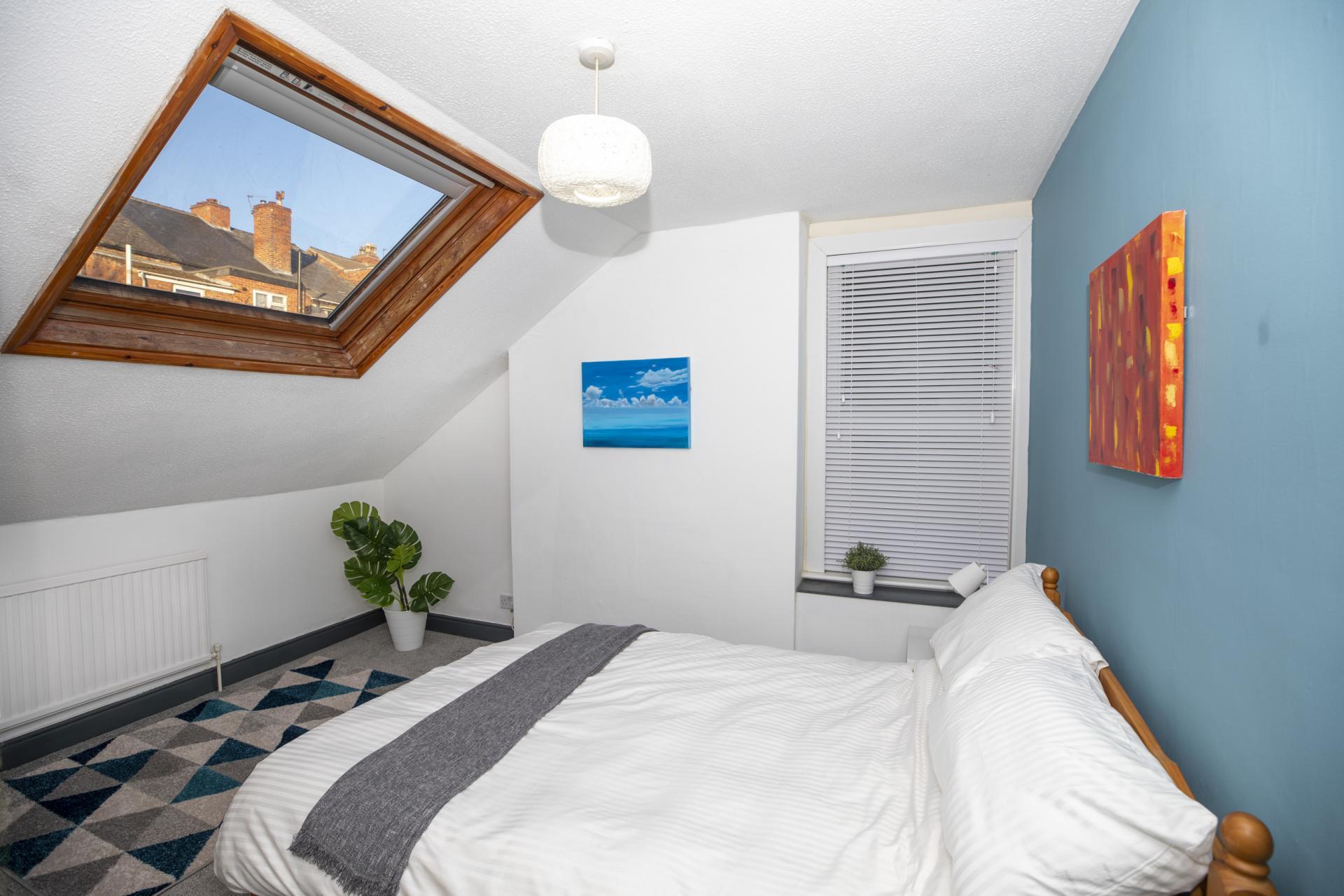Velux window at Nottingham Arthouse, Sneinton, Nottingham - Citybase Apartments